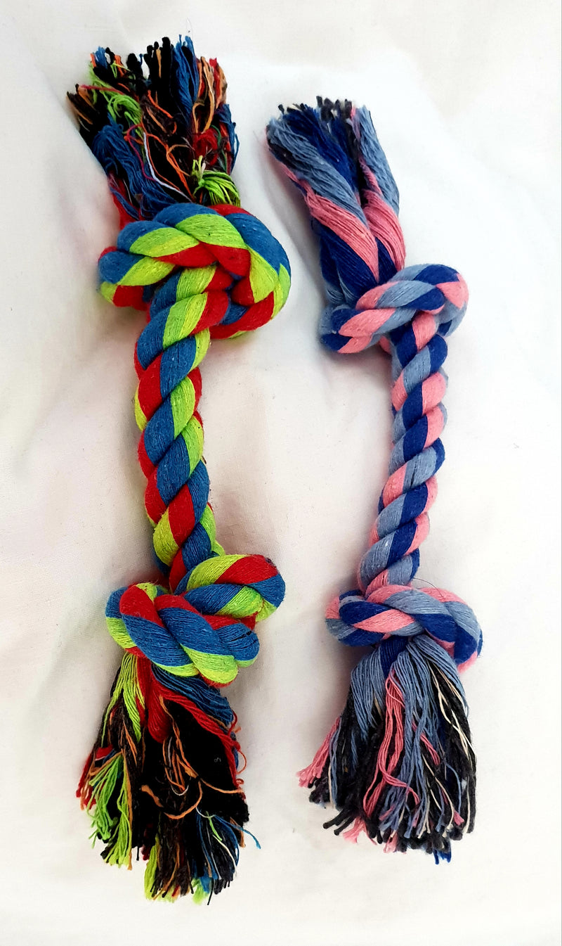 Braided Linen Chew Rope - medium