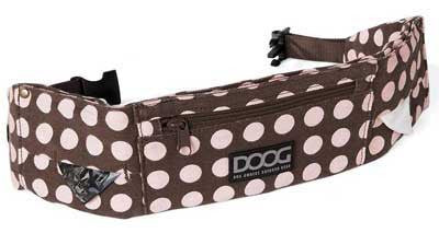 DOOG Walkie Belt in Polka Pink - Smitten Pets