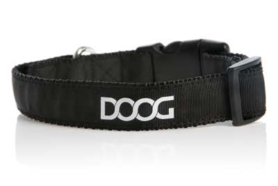 DOOG Black Dog Collar - Smitten Pets
