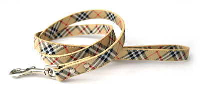 Dogue Plaid Leads in Blue - Smitten Pets - 1