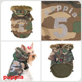 Puppia No. 5 Ski Dog Jacket in Camouflage - Smitten Pets - 2
