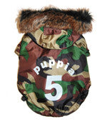Puppia No. 5 Ski Dog Jacket in Camouflage - Smitten Pets - 1