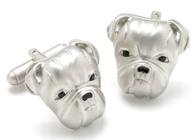 British Bulldog Cufflinks - Smitten Pets