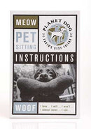 Pet Sitting Instructions Pad - Smitten Pets