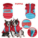 Puppia Classic Red Hooded Dog Jacket - Smitten Pets - 1