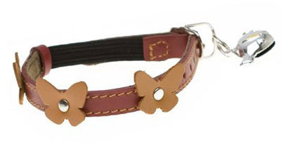 Hamish McBeth Papillion Red Cat Collar - Smitten Pets
