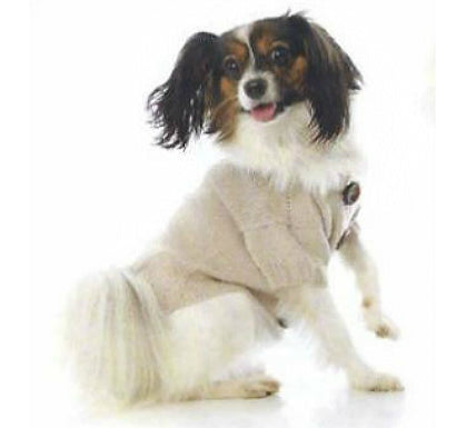 Miyow & Barkley Barkingham Knit Cardigan in Cream