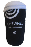 Chewnel Parody Coffee Cup Dog Toy