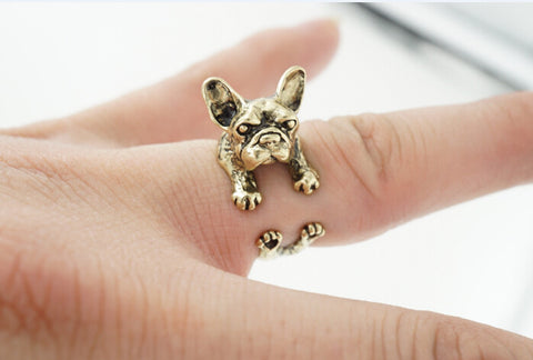 *NEW* French Bulldog Hug Ring - Smitten Pets - 3
