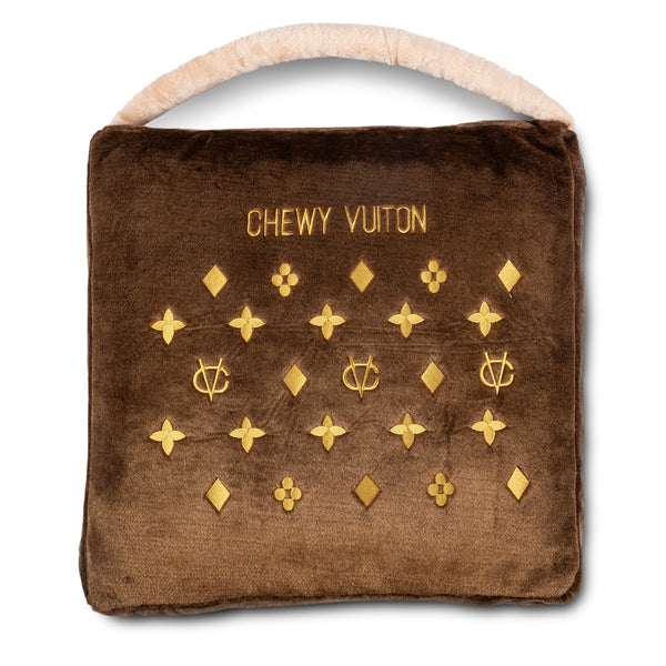 Chewy Vuiton Parody Pet Bed