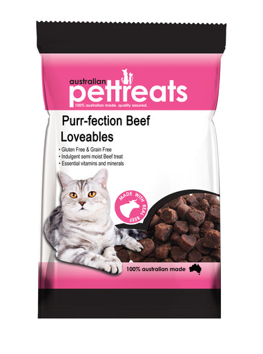 Purr-Fection Beef Loveables 80g