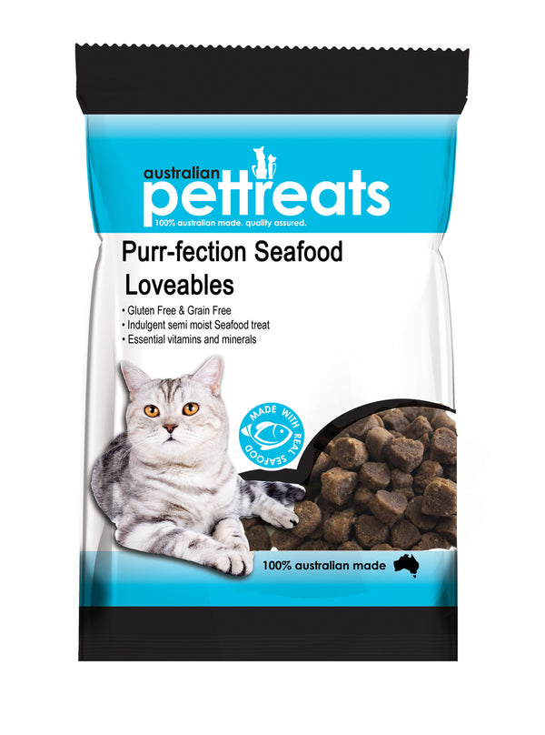 Purr-Fection Seafood Loveables 80g
