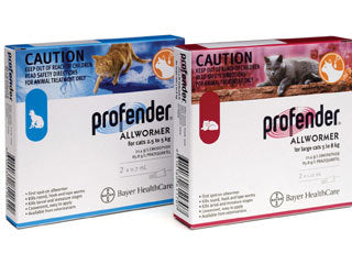 Profender Cat Wormer