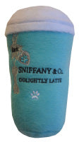 Sniffany  & Co Parody Coffee Cup Dog Toy