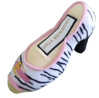 Stella MuttCartney Designer Inspired Plush Shoe Shape Dog Toy