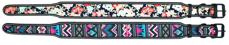 Aztec Artist design Dog Collar