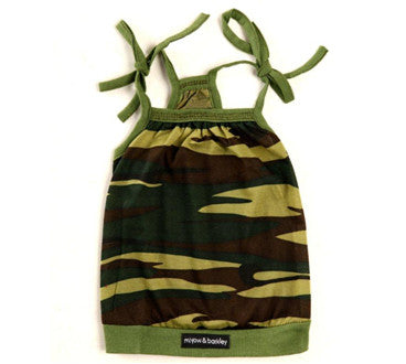 Miyow & Barkley Camo Bubble Dress