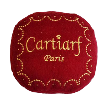 Cartiarf Parody Gift Box Dog Toy