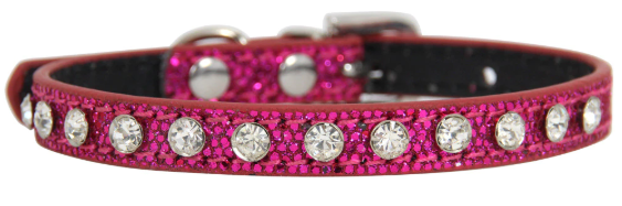 Pink Diamante & Rhinestone  Collar
