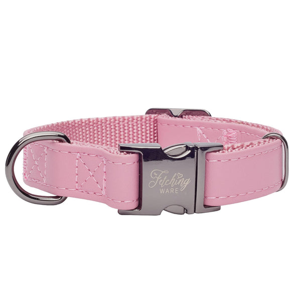 Fetching Ware Rosa in Gunmetal Collar
