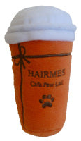 Hairmes Parody Coffee Cup Dog Toy