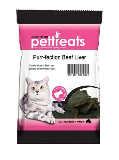 Purr-Fection Beef Liver 60g