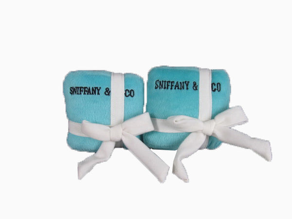 Sniffany & Co Parody Gift Box Dog Toy