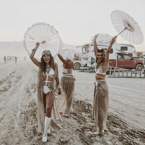 Burning Man Showpo