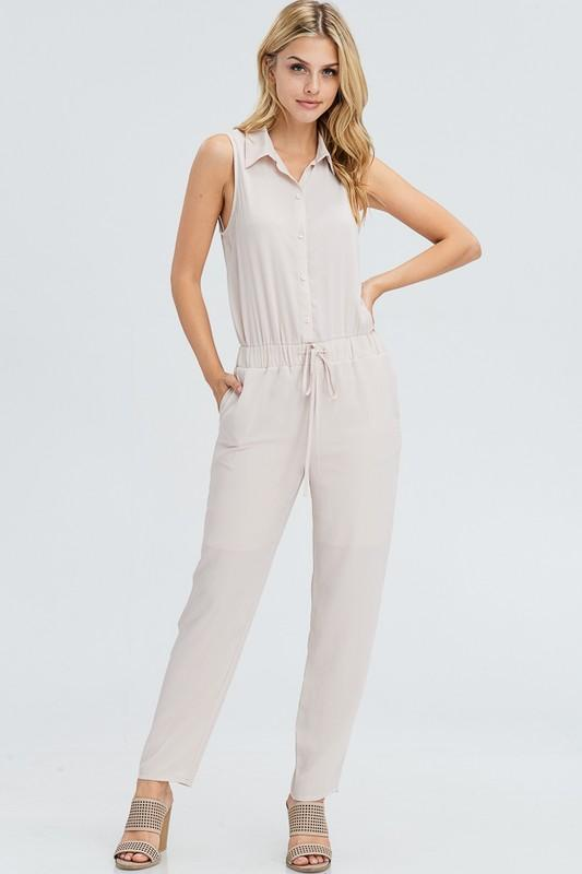 Almond Jumpsuit