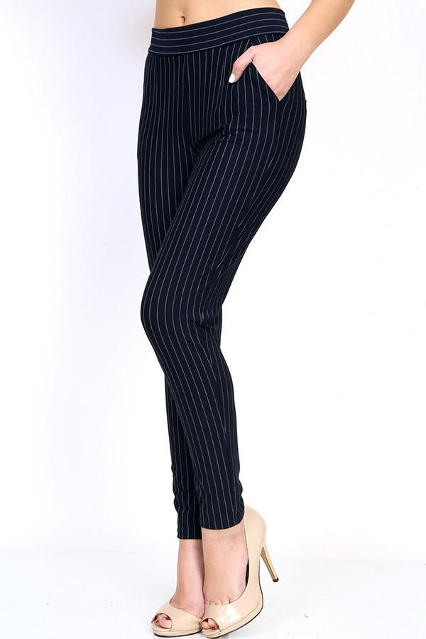 Tia Navy Pants