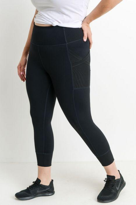 Nadine Black Leggings