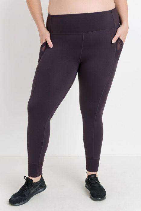 Nadine Purple Leggings