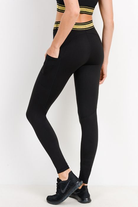 Gold Band Leggings