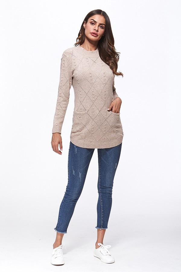 Venus Creme Sweater