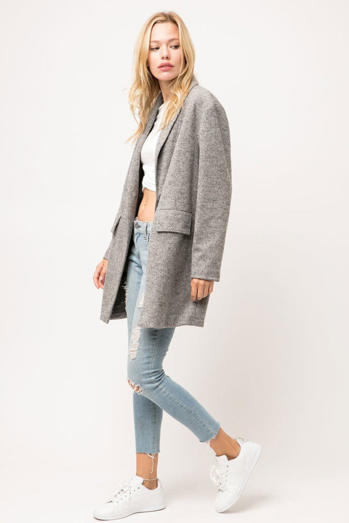 Hazel Heather Grey Blazer