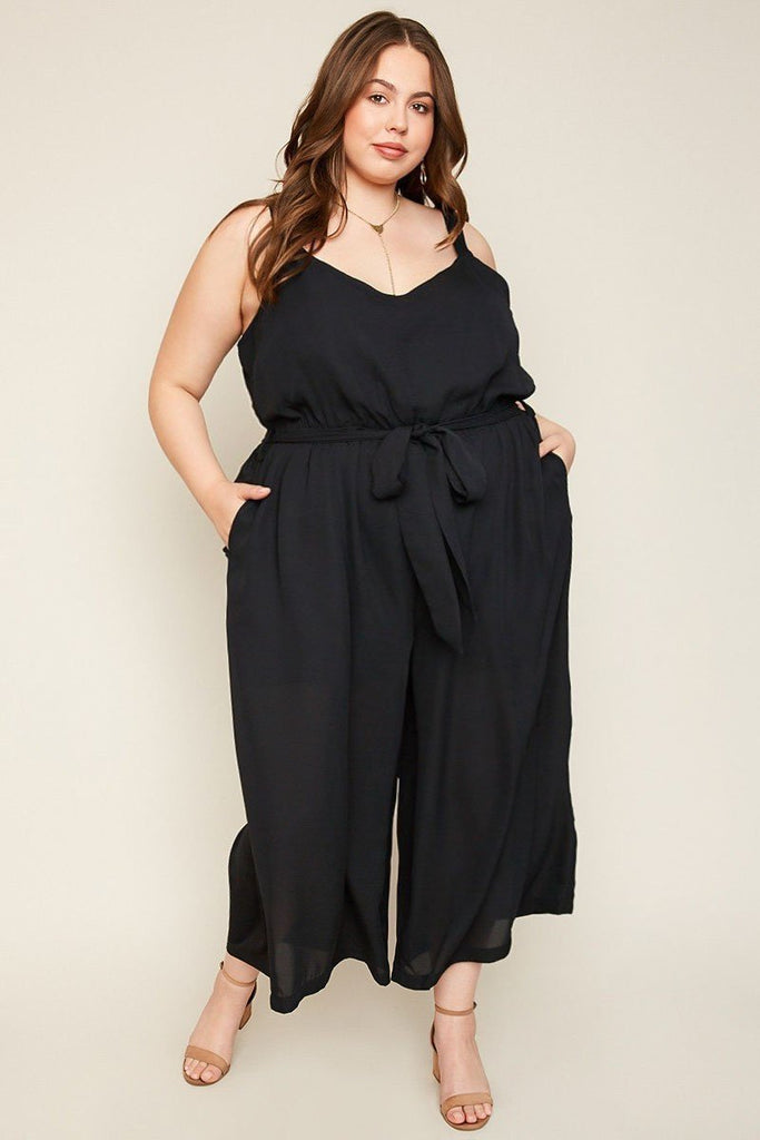 Brandi Black Jumpsuit