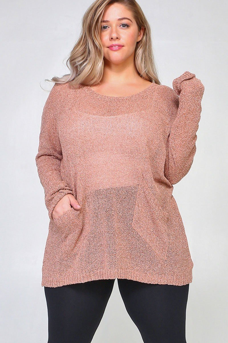 Maggi Rose Gold Sweater