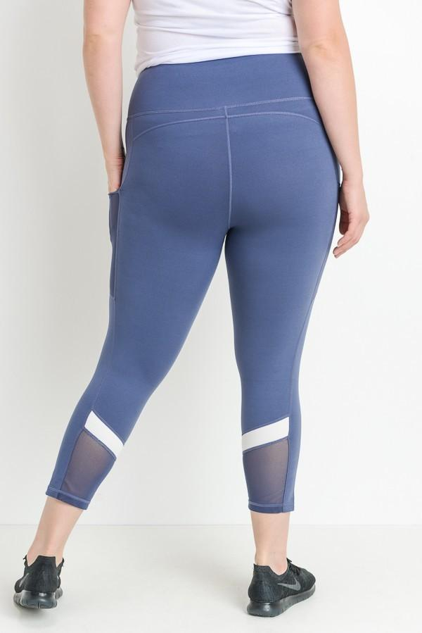 Nicci Blue Leggings