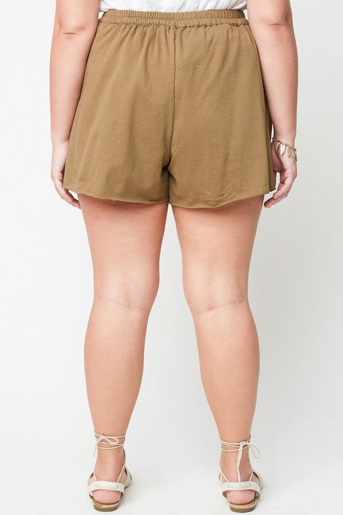 Abby Olive Shorts