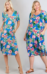 Rae Tropical Dress