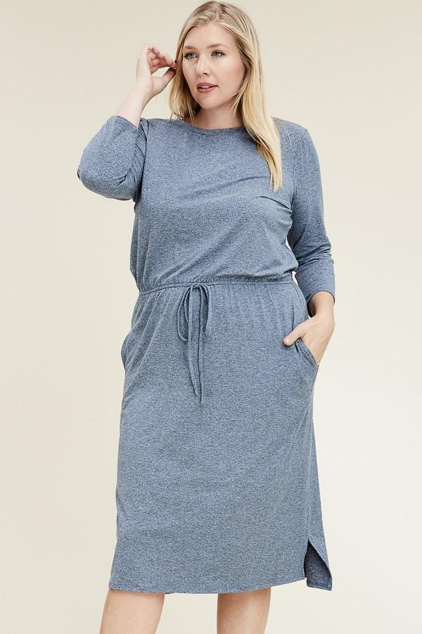 Jay Navy Dress