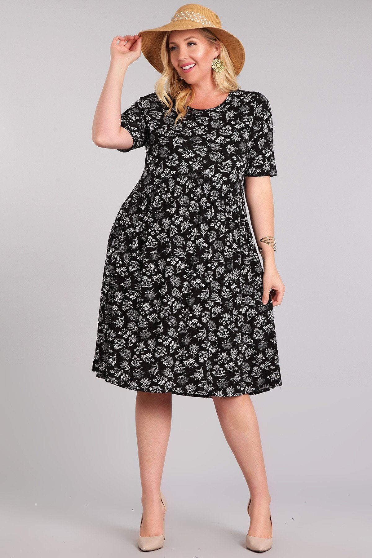 Jocelyn Black Dress