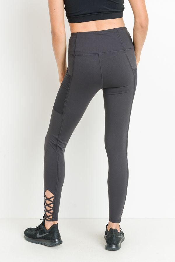 Katherine Charcoal Leggings
