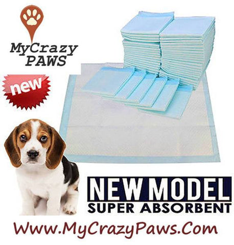 Puppy Training Pads / Kitten Training Pads Super Absorbent Size 60cm x 60cm- White