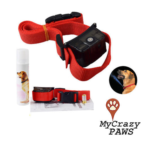 Dog Anti Bark Training Collar Automatic Citronella Anti Bark Spray Collar for Dogs