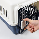 Portable Dog Cat Rabbit Small Animal Pet Carrier Portable Hard Cover Cage, PET Travel Cage