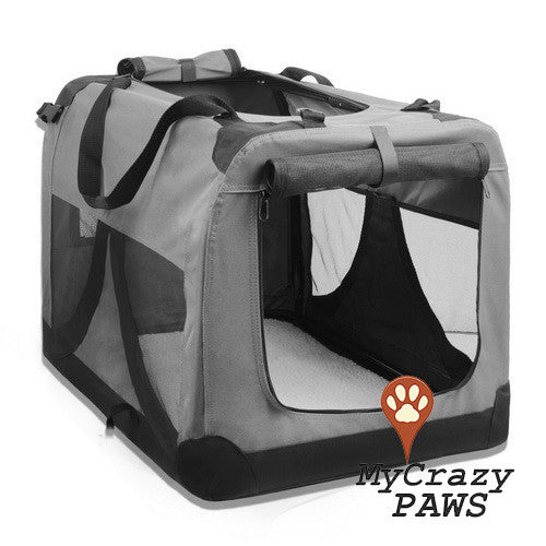 Extra Large Dog Cat Small Animal Pet Carrier Portable Soft Cage, PET Travel Bag