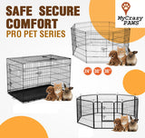 "Dog Playpen COVER For Size 24"" 30"" 36"" 42"" Pet Playpen / Cage Puppy Crate Enclosure."