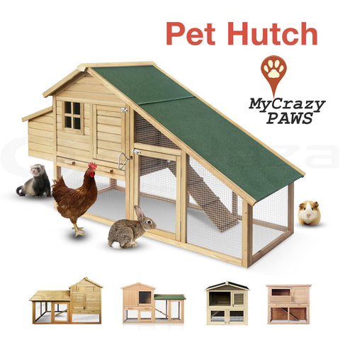 Large Rabbit Hutch / Cage Outdoor Rabbit Guinea Pig Chicken Small Pet cage / Hutch
