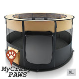 Portable Pet Playpen Puppies Dog Cat Kittens Soft Playpen Dog Cat Puppy Play